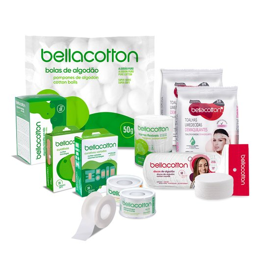 Kit Higiene Família bellacotton