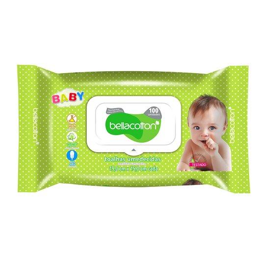 Lenço Umedecido Bebê 100un