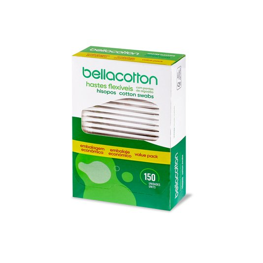 Cotonete Bellacotton Cartucho 150un