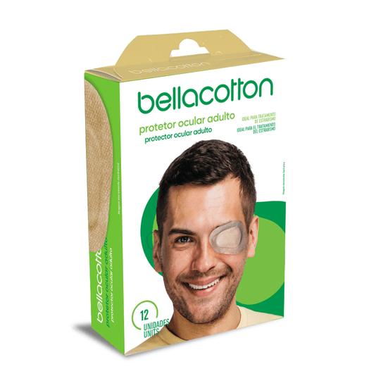 Protetor Ocular Adulto Bege 20un bellacotton