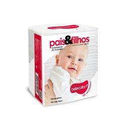 Algodão Quadrado Baby Bellacotton Pais&Filhos 50un