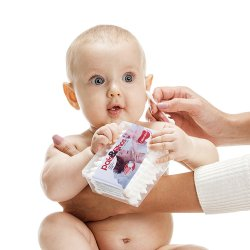 Cotonete Para Bebê Bellacotton Pais&Filhos 50un