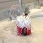 Cotonete para Maquiagem bellacotton Pote Flip Top 80un