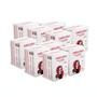 Kit profissional com 10 pacotes de Quadrados de Algodão com 50un